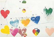 Jim Dine, Die Welt (für Ann Waldman), 1972