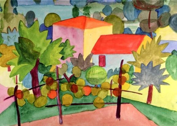 Hermann Hesse, Zwei Häuser im Garten