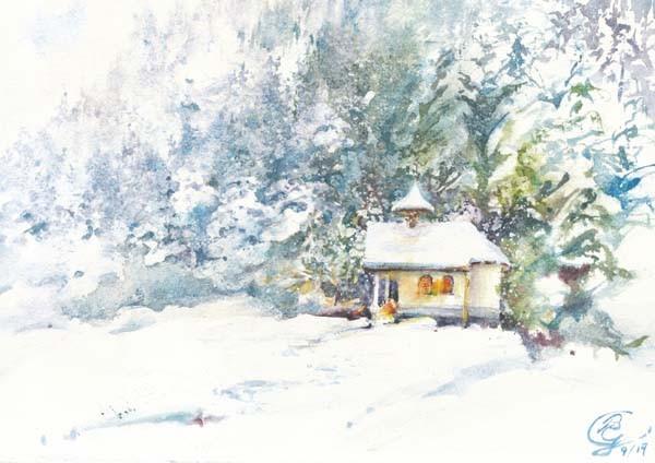 Wunderweiße Weihnacht