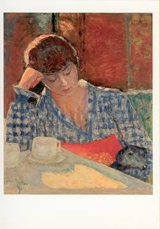 Pierre Bonnard, In Gedanken versunken