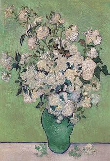 Vincent van Gogh, Vase mit Rosen