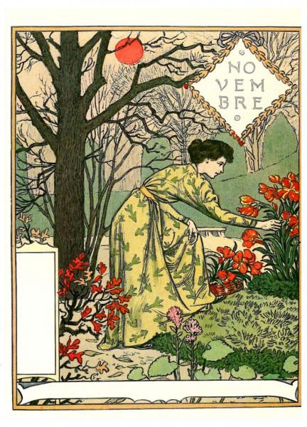 Eugène Grasset, November