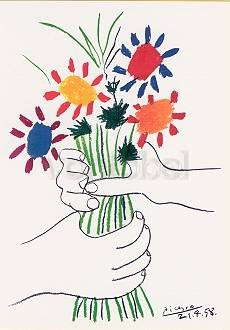 Pablo Picasso, Le Bouquet, 21 avril 1958 (1958)