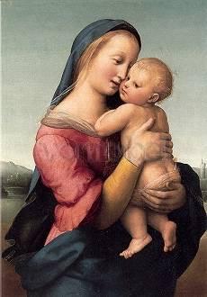 Raffael (Raffaelo Santi), Die Madonna Tempi