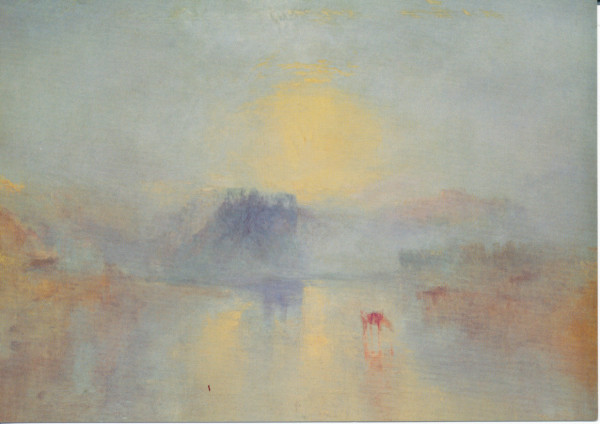 William Turner, Sonnenaufgang