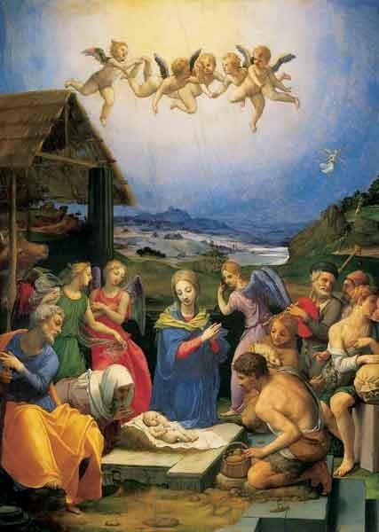 Bronzino, Anbetung der Hirten