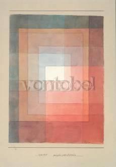 Paul Klee, Polyphon gefasstes Weiß