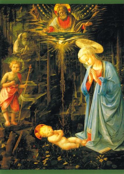 Filippo Lippi, Maria, das Kind verehrend