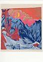 Ernst Ludwig Kirchner, Wintermondnacht (Längmatte bei Monduntergang)