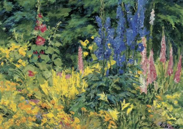 Theodor Schultze-Jasmer, Großes Gartenstück