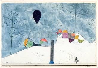 Artikel auf Anfrage, Paul Klee, Winterbild