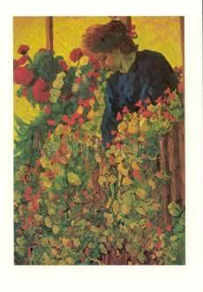 Giovanni Giacometti, Auf der Laube