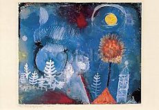 Paul Klee, Landschaft der Vergangenheit