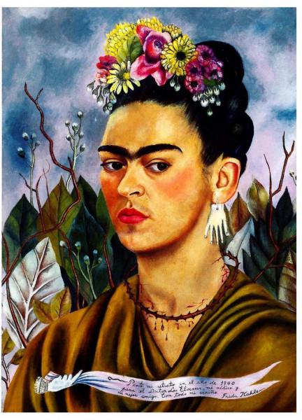 Frida Kahlo, Selbstportrait, 1940