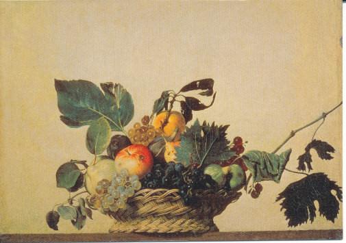 Caravaggio, Früchtekorb