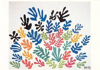 Henri Matisse, Die Garbe (1953)