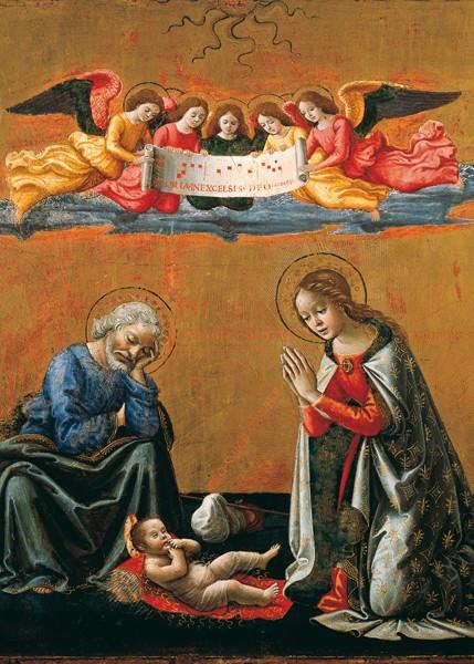 Domenico Ghirlandaio, Geburt Christi