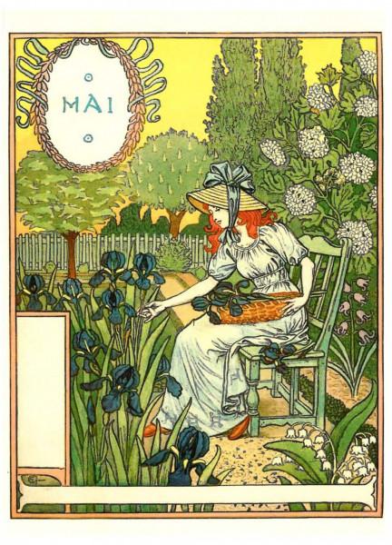 Eugène Grasset, Mai