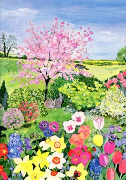 Hilary Jones, Frühling