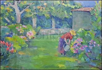 Renate Koblinger, Die Gärtnerin