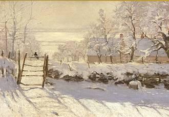 Claude Monet, Die Elster