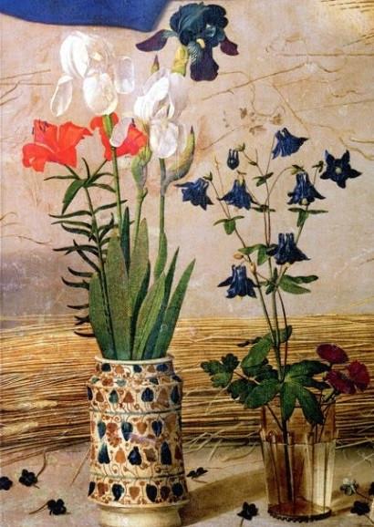 Hugo van der Goes, Anbetung der Hirten (Detail), 1476/78