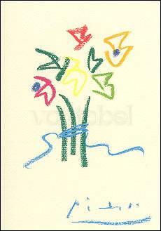 Pablo Picasso, Blumenstrauss (1961)