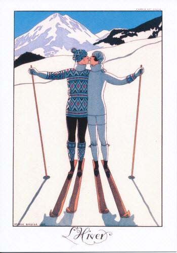 Georges Barbier, L´Hiver I Der Winter