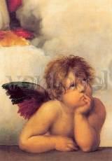 Raffael, Sixtinische Madonna Engel