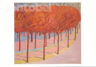 Cuno Amiet, Bäume in der Wintersonne