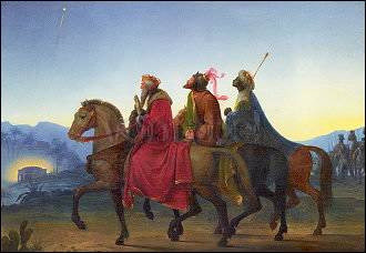 Leopold Kupelwieser, Die drei Weisen