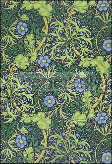 William Morris, Tapetenmuster