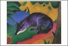 Franz Marc, Fuchs (Blauschwarzer Fuchs)