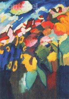 Wassily Kandinsky, Murnau - Garten II