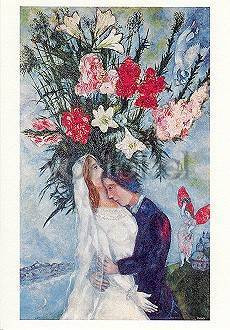 Marc Chagall, Das Brautpaar