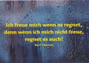 Karl Valentin, Ich freu mich...