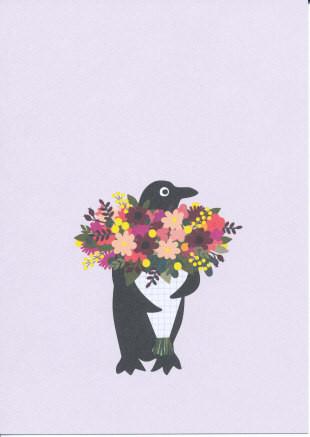 Blumenpinguin
