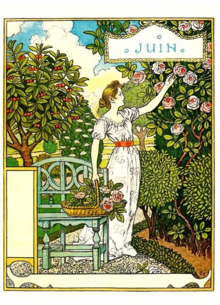 Eugène Grasset, Juni