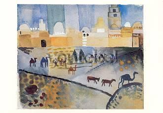 August Macke, Kairouan I, 1914