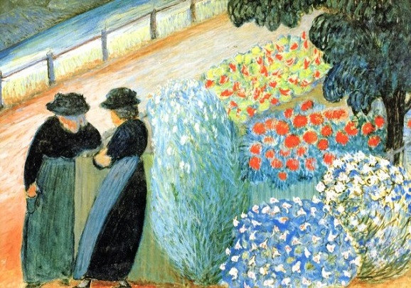 Marianne von Werefkin, Garten der Frauen