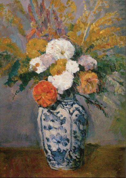 Paul Cézanne, Dahlien