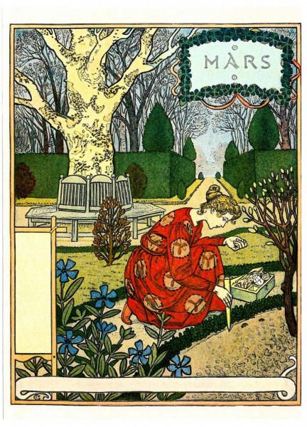 Eugène Grasset, März