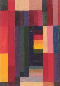 Johannes Itten, Horizontal-Vertical (1915)