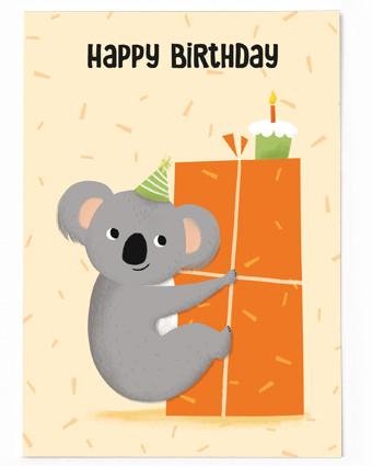 happy birthday koala