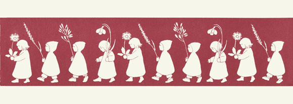 Wurzelkinder Blumenparade rot