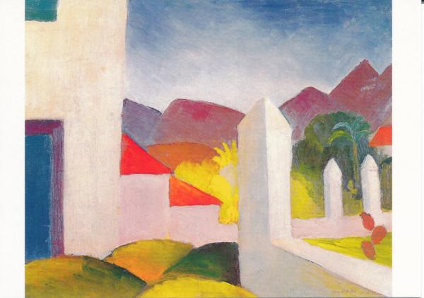 August Macke, Tunesische Landschaft