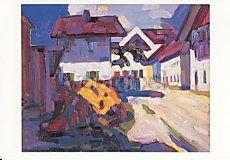 Wassily Kandinsky, Murnau, Häusergruppe