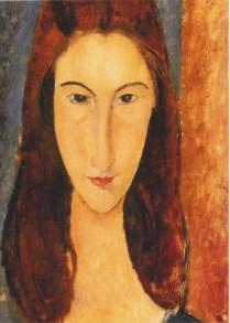 Amedeo Modigliani, Traurige Augen, Jeanne, 1917
