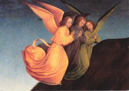Rogier van der Weyden, Der Middelburger Altar (Detail)