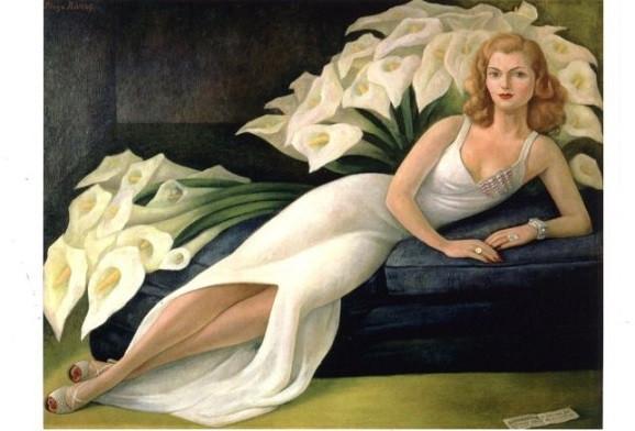 Diego Rivera, Porträt von Natasha Gelman, 1943